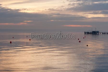 germany hagnau view of lake constance