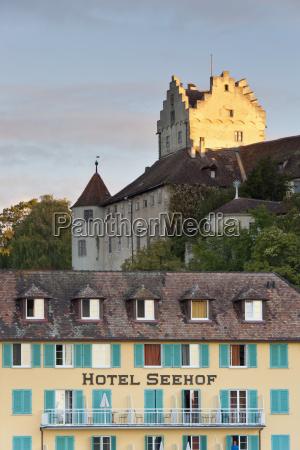 germany meersburg view of hotel and