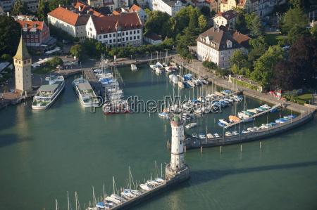 germany bavaria lake constance yacht harbor