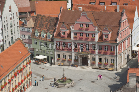 germany bavaria allgaeu memmingen old town