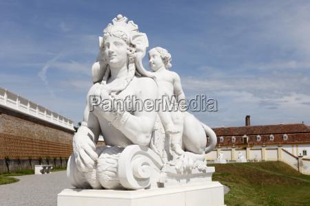 jardin estatua barroco escultura austria al