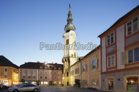 austria styria bad radkersburg view of