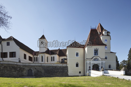 austria styria view of kornberg castle