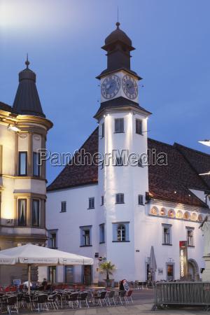 austria styria leoben view of old