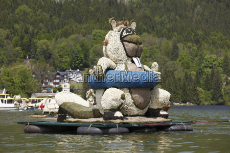 austria styria daffodil festival celebrating at