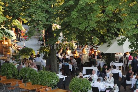 austria styria graz people at beer