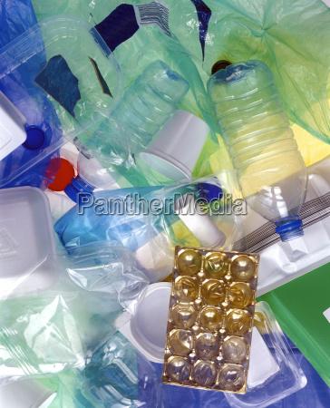 leere plastikverpackung nahaufnahme
