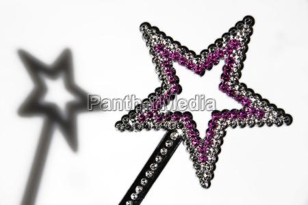 star shaped wand nahaufnahme