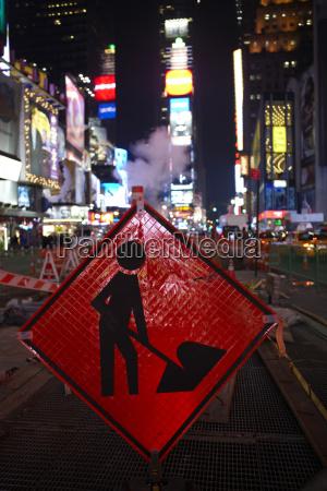 usa new york city manhattan work