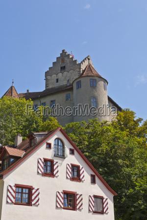 germany baden wurttemberg meersburg view of