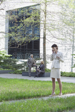 germany baden wuerttemberg stuttgart business woman