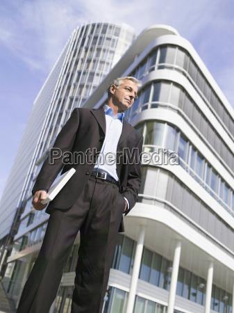 germany baden wuerttemberg stuttgart businessman with