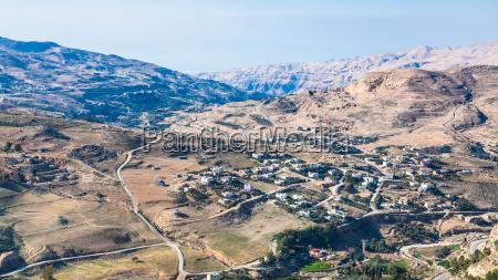 rural landscape near al karak town