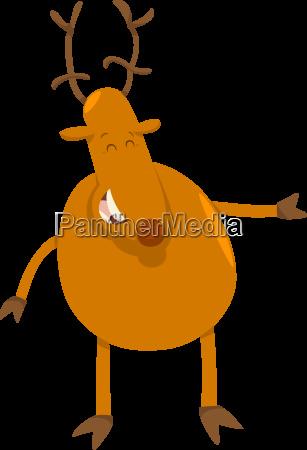 deer animal character