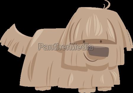 shaggy dog animal character