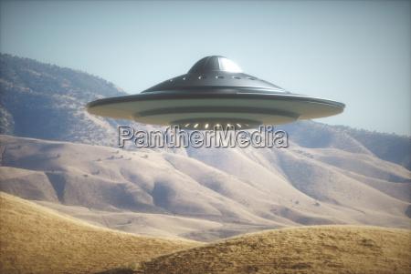 alien raumschiff auf der erde