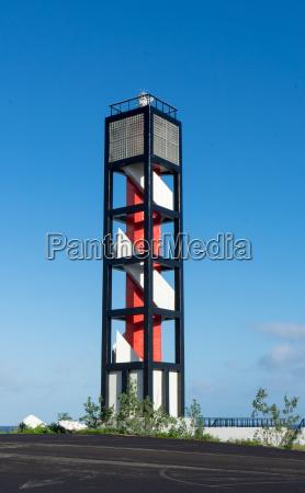 lighthouse in puerto de la cruz