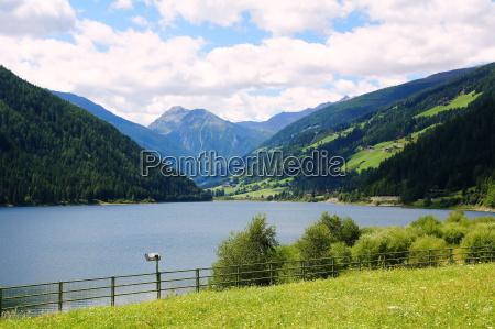 zoggler reservoir in the ultental valley