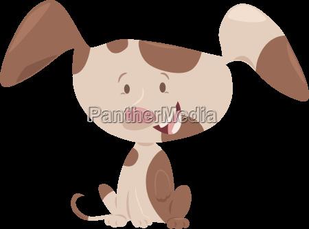 cute puppy cartoon