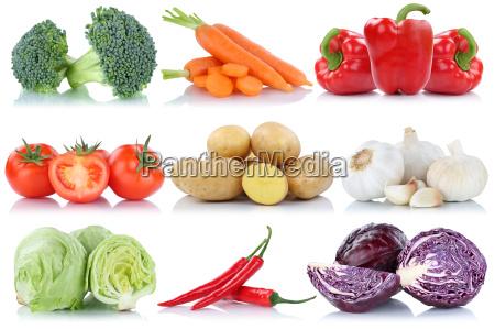 gemuese tomaten kartoffeln karotten paprika salat