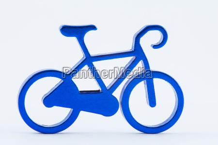 blau sport freisteller abgeschieden isolierte fahrrad