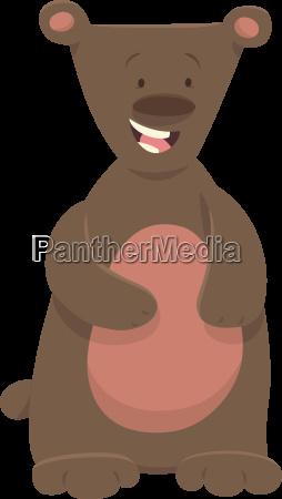 bear or teddy animal character