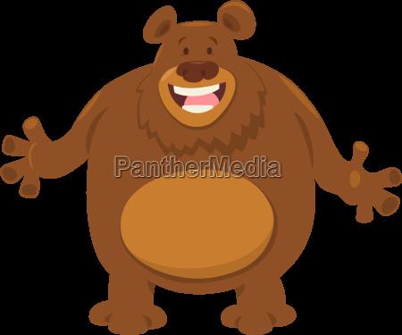bear cartoon animal