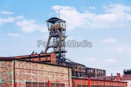 coal mine louis concordia welle kohlengrube