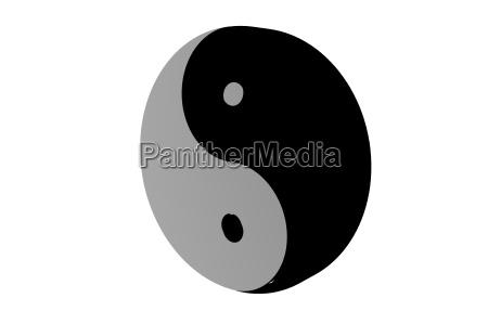 yin yang freigestellt