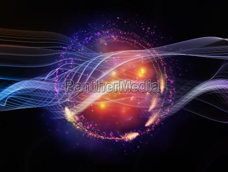 lights of information stream