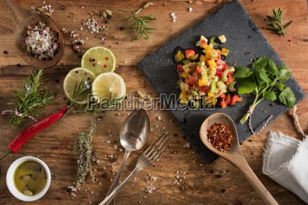 mediterranean vegetables gazpacho