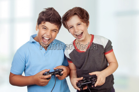 best friends playing on playstation