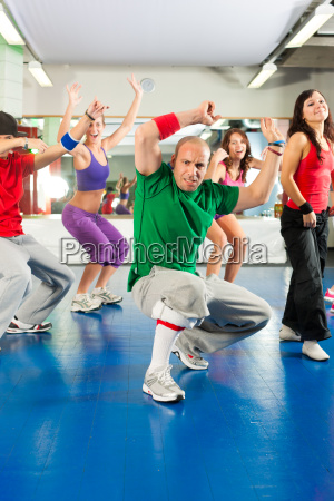 fitness zumba training and workout