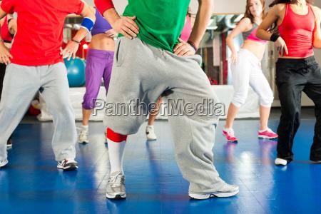 fitness zumba training and workout