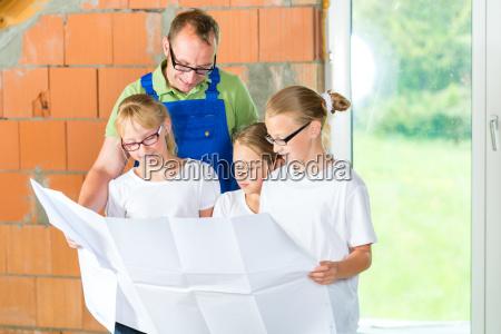 familienbesichtigung hausaufstellungsort