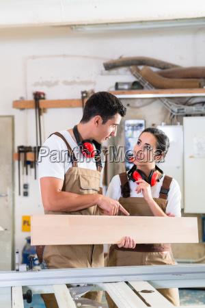 cabinet maker marking board for cutting