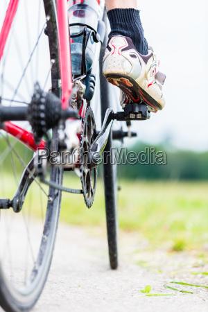 kette pedal hinterrad und kettenrad
