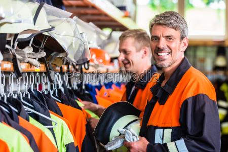 fire fighters prepare for next emergency