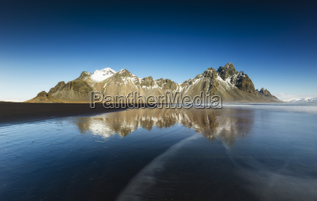 island halbinsel stokksnes vestrahorn