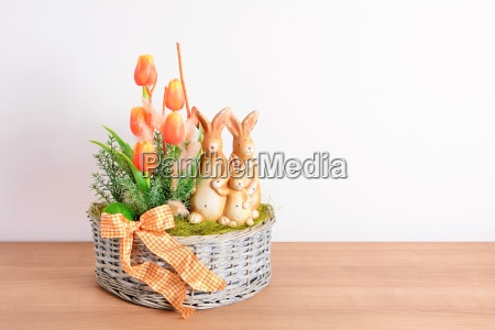 easter home decoration