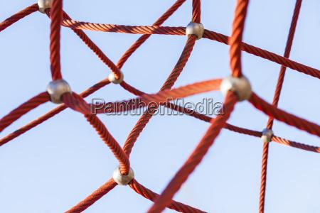 red klettern netz