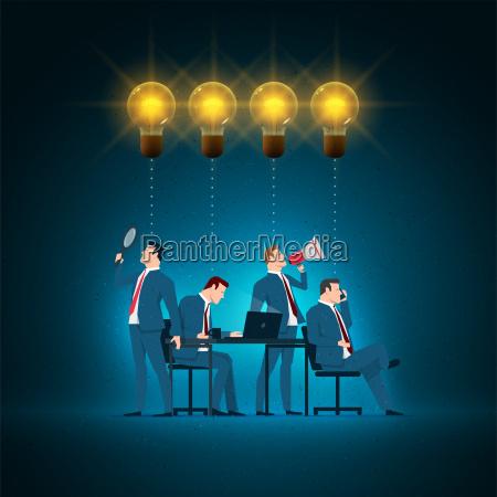 business concept illustration
