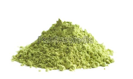 gruenes matcha tee pulver