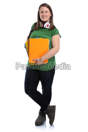 student young woman young full body