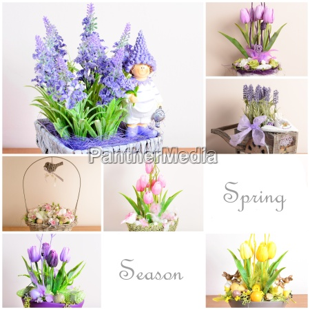 home decoration collage