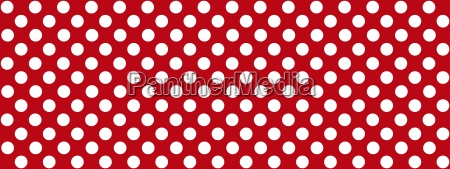 wide dotted background red white