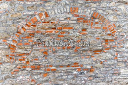brick and stone wall texture