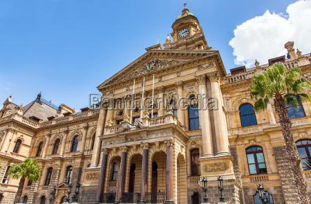 city hall in kapstadt suedafrika