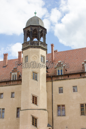 tower of the luther house in