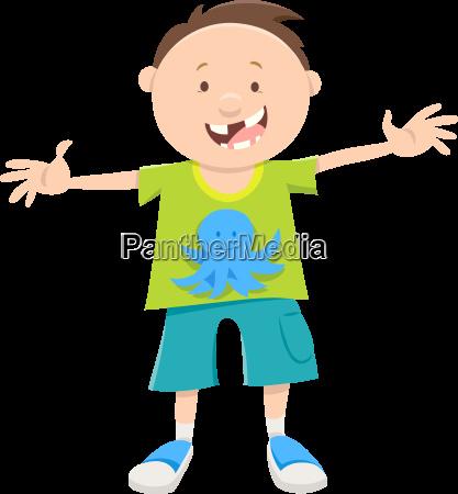 snagle tooth boy cartoon